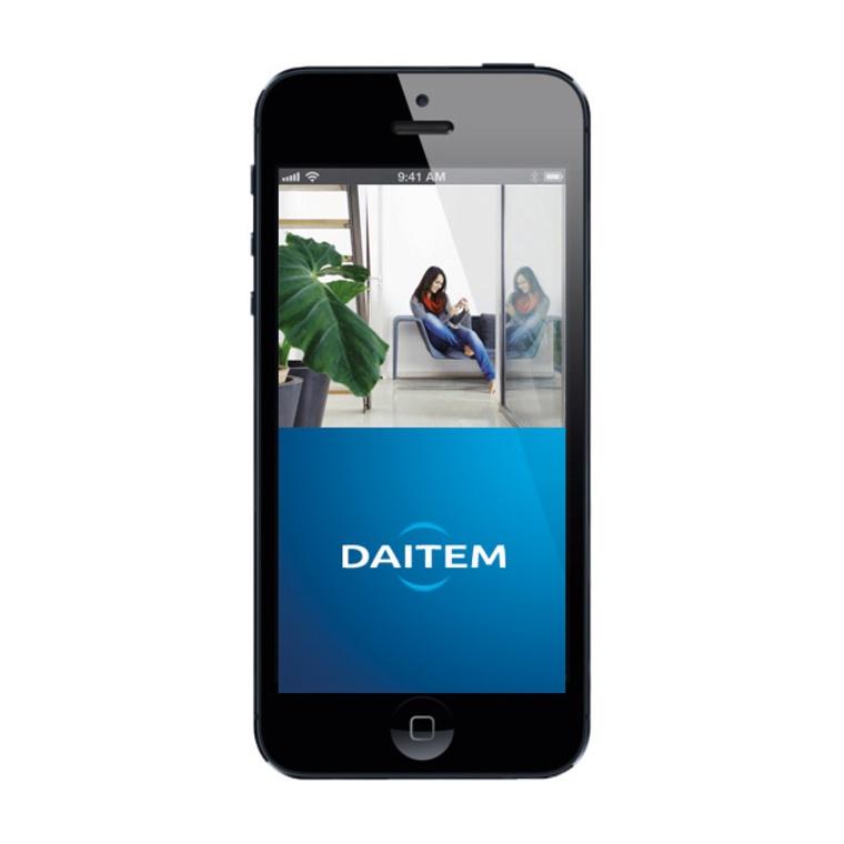 Daitem, Application smartphone, installable par Domo-Confort, installateur alarme à Sstrasbourg, Bas-Rhin (67), Alsace