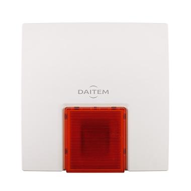 Daitem, Alarme E-NOVA Sirène extérieure, installable par Domo-Confort, installateur alarme à Sstrasbourg, Bas-Rhin (67), Alsace