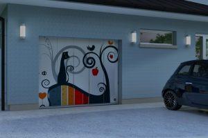 Javey, porte de garage latérale DIANE :installable par Domo-Confort, installateur alarme à Sstrasbourg, Bas-Rhin (67), Alsace