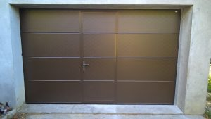 Porte-garage-portillon-installation-Domo-Confort-fermeture