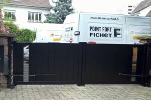 SAV-Camionnette-Domo-Confort-Portail